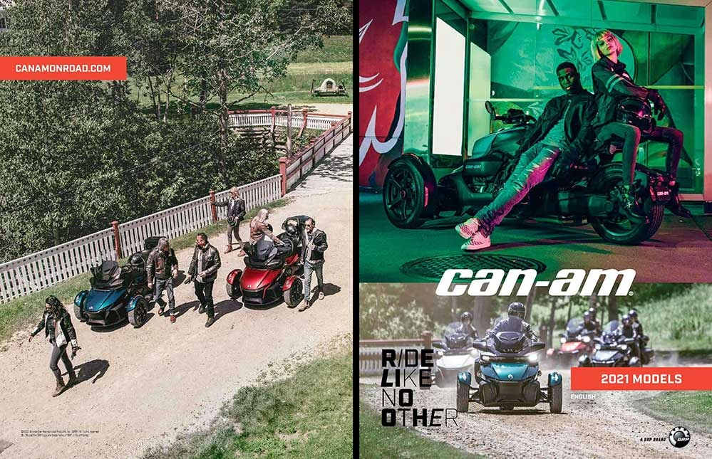 Catalog accesorii Can-am Onroad 2021